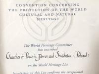 Polen Friedenskirchen in Swidnica und Jawor Tafel 1