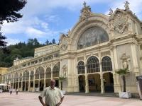 Tschechien Bedeutende Kurstädte Europas Marienbad Barockkolonnade 2020 07 18