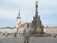 Tschechien Olmütz Dreifaltigkeitssäule