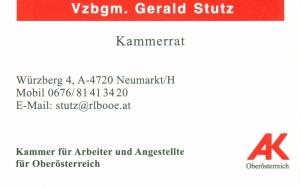 Arbeiterkammer Visitenkarte Nr 1