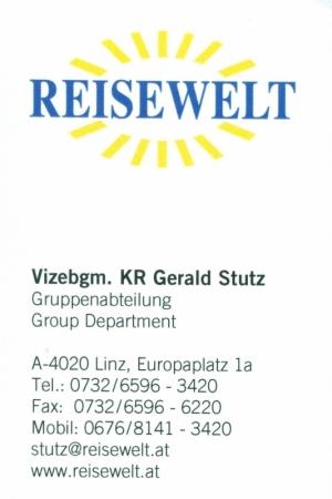Reisewelt Visitenkarte Nr 2