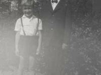 1971 Erstkommunion mit Bruder