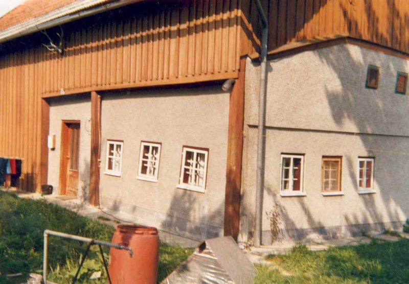 1985 Würzberg altes Haus von Südosten