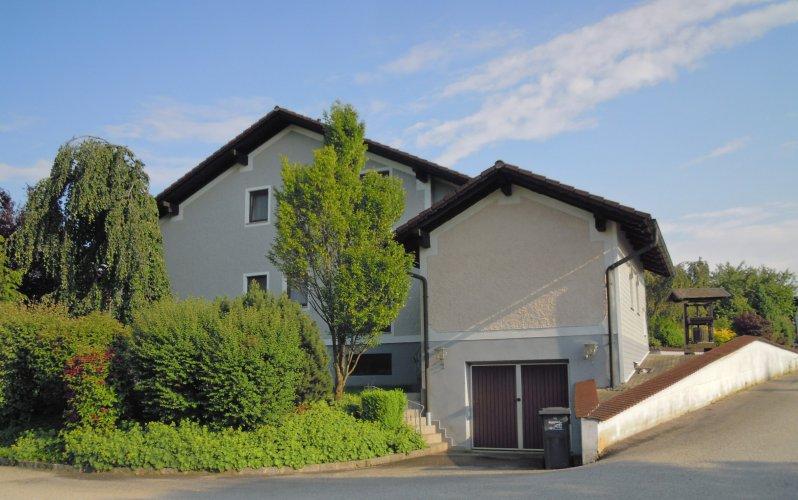 2014 Juni Wohnhaus mit neuer Hausfarbe von Norden